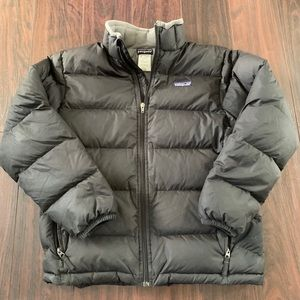 Patagonia Men Down Sweater Puffer Jacket Black S
